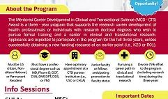 Call for Applications: Mentored Career Development in Clinical and Translational Science