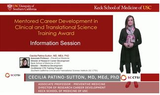 SC CTSI Mentored Career Development in Clinical Translational Science Scholars Announced