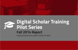 Digital Scholar Report 2014