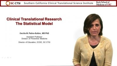 Introduction to Clinical and Translational Research: Statistical Model and Systematic Reviews - Session 5