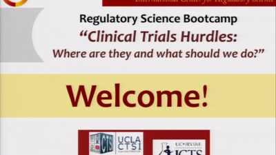 Clinical Trials Hurdles Session 1 and 2: Challenges of Clinical Trial Management (2015)