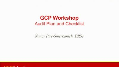 Monitoring and Auditing Bootcamp Session 5: Workshop: GCP Audit Process and Checklist Scope (2016)